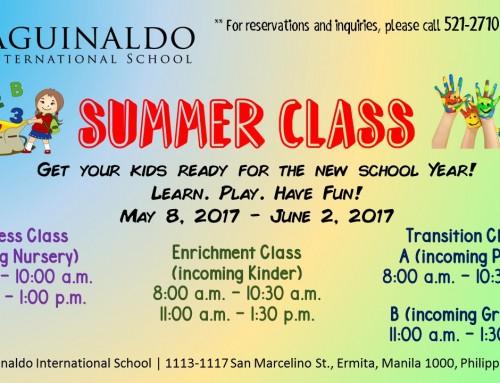 Summer Class!